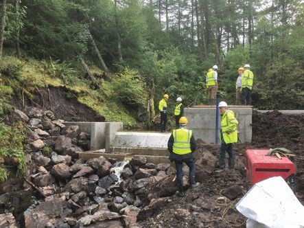 Two Small Hydroelectric Power Plants Commissioned in Scotland